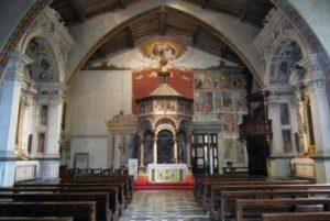 L'interno del Santuario - Chiesa della Madonna Castello